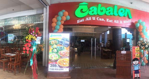 Cabalen, Cabalen-restaurant, Cabalen-Eat-All-You-Can, Buffet-Restaurant, Filipino-Buffet-Restaurant