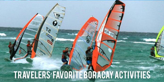 Boracay activities - Yo Manila