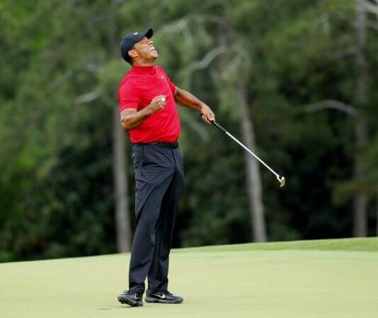 Tiger Woods 5th Masters Title