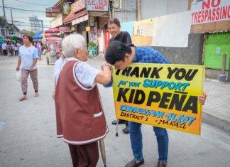 Congressman-elect Romulo Kid Valderrama Peña