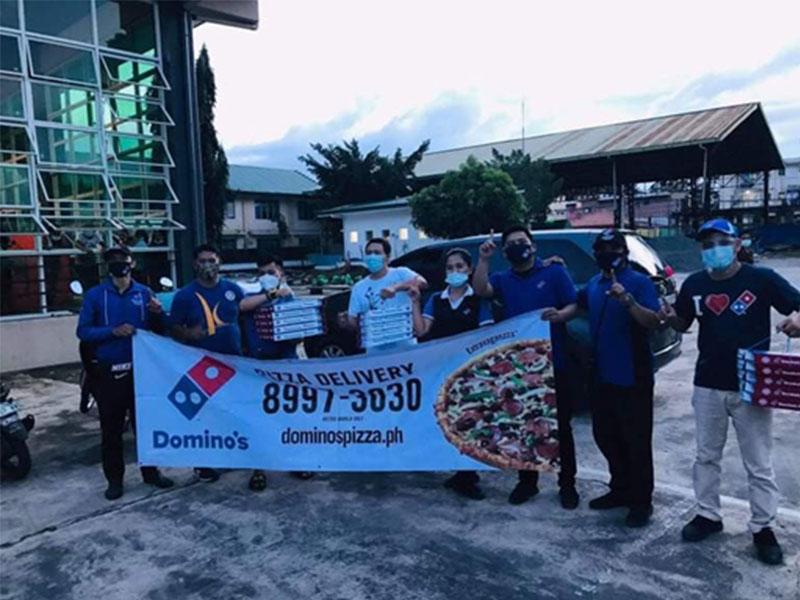 Domino's Pizza Philippines Bayanihan